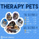 Fall 2016 Therapy Pets Schedule