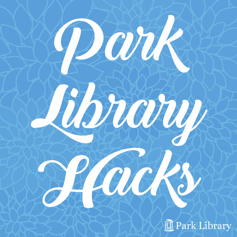 Park Library Hacks graphic