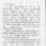 Letter to the Editor from the November 15, 1971 Daily Tar Heel