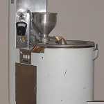 Photograph of the doughnut machine used to extrude Krispy Kreme doughnuts until the 1960s.